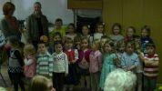 Kindergartenkinder des Kindergarten Klingenstrasse